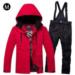 Nouveau Épais Chaud Ski Suit Femmes Imperméable Coupe-Vent Ski Et Snowboard Veste Pantalon Ensemble Femme Neige Costumes Vêtements de Plein Air ? partir de fabricateur