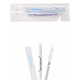 Chirurgische stifte online-Tattoo Skin Marker Piercing Markierstift für Augenbrauen Tattoo Scribe Tool Supply Chirurgische Doppelköpfe Punktmarkierung 1mm 0,5mm RRA1505