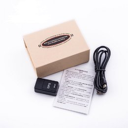 record tracks Promo Codes - GF07 GPS Real Time Tracking Locator GSM GPRS car Tracking Anti-Lost Recording Tracking Device Locator Tracker Support Mini TF Card