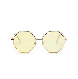 7cb2b8fb332 Hot Sale Women Fashion Square Sunglasses Colored transparent Marine lens  Sun Glasses Elegant Brand Designer polygon diamond sunglass men