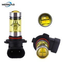2020 желтый h11 противотуманные фары 2Pcs H8 H11 светодиодные лампы 9005 HB4 9006 H16 LED Fog Light Bulb DRL лампы COB 1000LM Golden Yellow дешево желтый h11 противотуманные фары