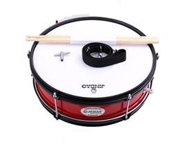 Snare Drum Set Student Aço Shell 14 X 5,5 polegadas, inclui bateria, baquetas e alça de