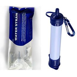 2019 kupfer-schubladen-knöpfe Neueste Survival persönliche Wasserfilter für Camping Wandern Backpacking und Prepping Portable Purifier ist BPA frei und leichte Filtration