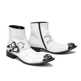 Moda 2019 Projeto Homens De Couro Genuíno Botas de Tornozelo Crocodilo Padrão Lace Up Sapatos de Vestido Branco Botas Básicas Homem supplier white lycra dresses de Fornecedores de vestidos de lycra brancos