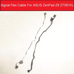 2019 lcd display módulo carro Cabo flexível de sinal genuíno para ASUS ZenPad Z8 ZT581KL Wifi Antena de sinal de cabo flexível de fita Peça de substituição