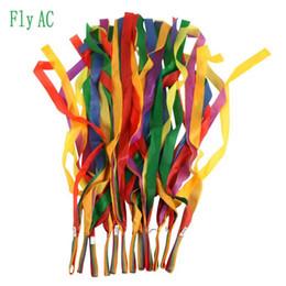 jeux de plein air [Fly AC] Haute qualité ruban danse de gymnastique danseur jouets jeux de plein air pour enfants enfants jouets de sport cadeau 12pcs / lot ? partir de fabricateur