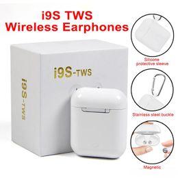 Pour Air Pods i9 i9s tws casque sans fil bluetooth ture stereo 5.0 Ecouteurs oreillettes avec chargeur magnetique Etui protecteur ? partir de fabricateur