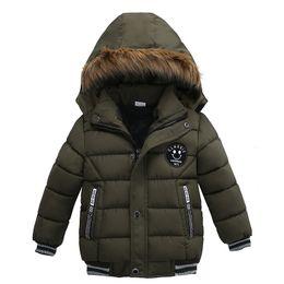 Argentina 2019 chaqueta de moda otoño invierno para los muchachos Niños chaqueta con capucha de los niños capa para la ropa del muchacho del niño que las capas del algodón de vestir exteriores caliente HNLY23 Suministro