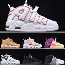 Nike Air Force 1 Uptempo Negro Camo hombre mujer plataforma zapatillas de deporte de alta calidad grandes Pippen Athletic zapatillas deportivas zapatos al aire libre 36-45 desde fabricantes