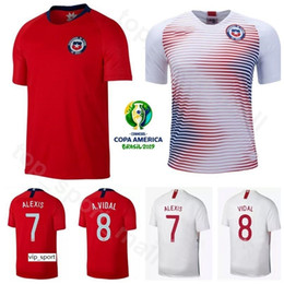 alexis jersey Coupons - Copa America Soccer Chile Jersey Home Away ALEXIS SANCHEZ VIDAL VARGAS MEDEL ARANGUIZ Football Shirt Kits