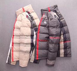 suéter de ganchillo suelto verano Rebajas Invierno ropa de algodón tendencia de la moda guapo cómoda chaqueta caliente jóvenes de alto grado chaqueta de algodón T88308787 masculina de los hombres