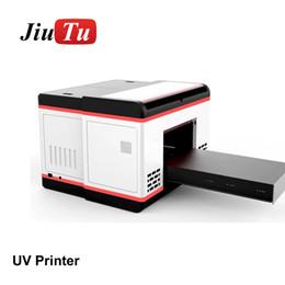 2020 casi di stampa auricolare A3 Stampante Dimensioni UV stampanti inkjet Macchina stampa fai da te per il cilindro 3D Rilievo del telefono Metal Case di legno acrilico TPU PVC casi di stampa auricolare economici