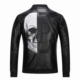 Canada Veste en cuir PU de manteau de printemps de luxe hip hop hommes Slim Fit Faux en cuir moto vestes manteaux masculins marque vêtements M-3XL cheap xxs leather Offre
