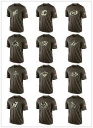 Argentina Moda NHL Saludo al servicio Colección Camisetas Camisetas de hockey baratas Camisetas Logos Big Tall Banner Good Quanlity Camuflaje cheap nhl jersey cheap Suministro