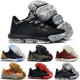 Nuevos mens Lebrons 16 XVI zapatos de baloncesto bajos en venta retro BHM Oreo lebron james 3 zapatillas tamaño 7-12 desde fabricantes