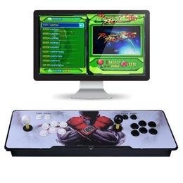 2019 controlador vga Pandora Box 7s Juego de controlador de la consola de juegos Arcade Set Soporte de consola de doble joystick HDMI VGA Game Box STY194 controlador vga baratos