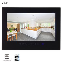 taux tvs Promotion 21,5 pouces noir salle de bains étanche LED TV Hôtel SPA Salon résistant à l'eau de douche 1080P Télévision