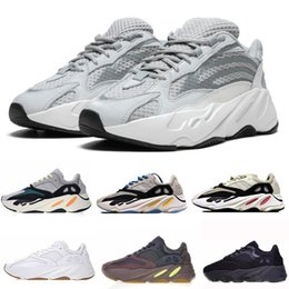Stivali mens atletici online-700 Runner Chaussures Kanye West Wave Runner 700 Stivali Uomo Donna Boosty Scarpe sportive da corsa Running Sneakers Scarpe Eur 36-45 con scatola