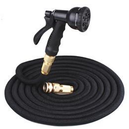 Высокомарочная труба шланга воды шланга сада 25FT-100FT расширяемая гибкая пластичная Сподручная с пушкой брызга специальное соединение от