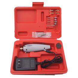 Stifte stecker online-Mini Bohrmaschine Diy Zubehör Schleifwerkzeug Elektrische Grinder Gravur Stift Werkzeuge Perle Jade Bohren Us Plug