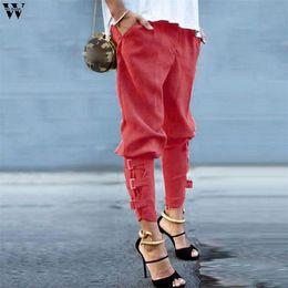 365932585d8 Womail Women Pants Fashion Hip Hop Full Length Pants Casual Female Harem  Baggy Dance Jogging Sweat Pants Slacks Trousers D18122701