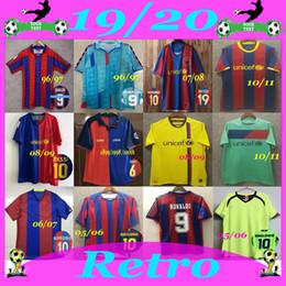 jersey de deutschland Rebajas 1996-1997 Barcelona, lejos retro camiseta de fútbol 05/06 FIGO RONALDINHO RONALDO camiseta de fútbol 08/09 10/11 RIVALDO GUARDIOLA Iniesta Año de Barcelona