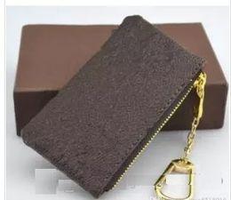 borsa della moneta del macaron all'ingrosso Sconti Borsa in pelle chiave maschile e portafoglio manica titolare anello chiave di protezione borsa cerniera portafoglio delle donne di casa chiave di archiviazione