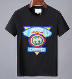 b1e7d86b3ca NOUVEAU plus récent G Fashion casual hommes marque loup Tshirt Homme T-shirt  à manches courtes T-shirt O-Cou medusa Hommes g chat noir Tee Homme T Shirts  ...