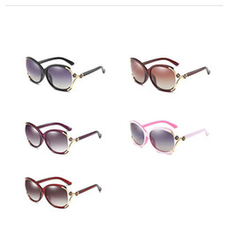 Passeio de flores on-line-Óculos de sol de pesca flor eyewear senhoras clássico condução luz polarizada multi cor ao ar livre bloqueio de luz 18sy f1