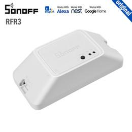 2019 Nouvelle arrivée SONOFF RFR3 Interrupteur de commande intelligent bricolage RF 433, domotique compatible avec Google Home Alexa ? partir de fabricateur