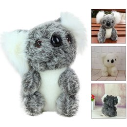 2019 кукольные куклы Kawaii Cute Stuffed Simulation Australia Koala Zoo Animals Gift Koala Toy Children Doll Plush Birthday Gift Interesting Toys 20