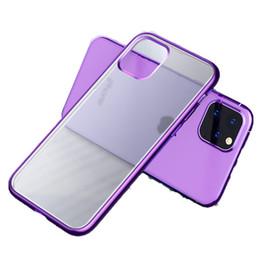 hermosa cubierta del iphone Rebajas JOYROOM para la cubierta Revestimiento del Iphone 11 El nuevo caso de Hermosa Serie Ultra Thin electrochapada cubierta protectora TPU casos para Iphone 11 Pro