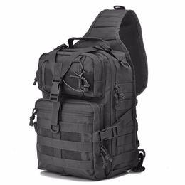 2020 imbottito impermeabile Designer-Military Tactical Assault Pack Zaino a tracolla Army Molle Zaino impermeabile EDC Zaino per escursioni all'aperto Campeggio Caccia 20L imbottito impermeabile economici