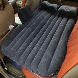 acessórios para carro sexy Desconto Auto Acessórios colchão inflável Car Bed + Air Pump + Travesseiro carro inflável cama de viagem viajar sexy de alta qualidade
