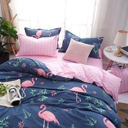 rosenbettdecken Rabatt MENGZIQI Rose Bettwäsche-Sets Fashion Bettdecken Sets King Size Bettwäsche-Sets Vier-teiliger Anzug Tagesdecke und Steppdecke Set für Heimtextilien