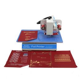 stampaggio a caldo manuale Sconti Timbratrice digitale a caldo digitale NDL-8025 per plastica in pelle