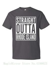 Tenacitee Mens Straight Outta Hawaii T-Shirt