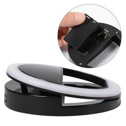 Wholesale Hersteller der LED Blitz Schönheits Fülle Selfie Lampe im Freien Selfie Ring Licht wieder aufladbar für allen Handy Grossisten auflädt