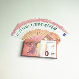 Brinquedo de cópia on-line-dinheiro falso 10 euros Props Copiar Play Money Banknote Toy Crianças Aprendizagem 100pcs / set Moeda Comemorativa Presente Para Party Game