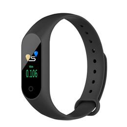 Canada Montre Smartwatch M3 Bracelet Sport Montre Couleur Écran Bracelet Moniteur de Fréquence Cardiaque Fitness Podomètre Pour IOS Android Montres Offre