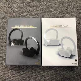 auriculares bluetooth iphone 4s Rebajas 2019 VERDADERO de flash inalámbrico de auriculares Blutetooth 5.0 auriculares portátiles auriculares del oído para los dobles IOS Android teléfono celular Epacket gratuito