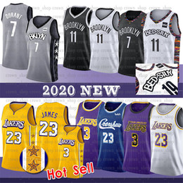 Camisa preta 23 on-line-James 7 Kevin Durant NCAA 23 LeBron Jersey RVING Davis Homens Anthony 72 Biggie Preto Kyrie College Basketball Jersey