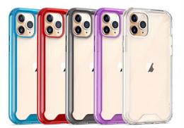 Pour 2019 NOUVEAU Iphone 11 Pro Max XR XS MAX X Samsung A10S A20S A10E S10 cas clairs de haute qualité antichocs Couverture acrylique pare-chocs DISqUE cas ? partir de fabricateur