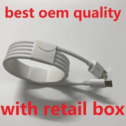 cargador movil s3 Rebajas Cable micro USB Calidad OEM 1M 3Ft 2M 6FT Cable de carga de línea de datos con caja minorista original para teléfono Samsung S7 S8 S9 S10 Nota 7 Huawei P9 8