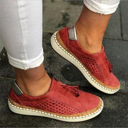 2020 womans mocassins  Chaussures de sport Womans Chaussures pour femmes Casual confortable Lady Mocassins femmes Flats Tenis Feminino Zapatos De Mujer womans mocassins  pas cher