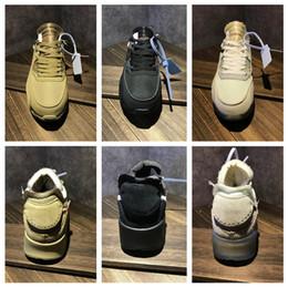 Con la caja y las existencias X 90 de descuento en zapatos casuales Hombre Desert Brown Airing Diseñadores de moda Clásico de lujo 90s Copa del mundo Triple Blanco Negro Zapato desde fabricantes