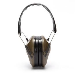 Headset taktisch online-Taktische Jagd Headset Anti Geräusch Ohrenschützer Outdoor Army Fans Industrie Gehörschutz Multi Farbe Heißer Verkauf 24 5sef1