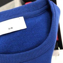 MOS Orso Stampa maniche lunghe cime for Kids Autunno 2019 bambini boutique di abbigliamento 2-10Y Sweatshrits Prodotti Speciali da vestiti occidentali del bambino all'ingrosso fornitori
