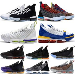 info for 262a8 30766 Herren-Basketball-Schuhe 16 WAS DER KÖNIG ICH VERPFLICHTIGE PLATZ LIEBE  DREI SCHWARZES LAKERS OREO 16S SPORT-SPORT-HERREN-SPORT-SPULE 7-12 frische  schuhe ...