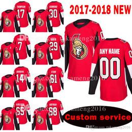 2019 johnny oduya jersey Custom ECONOMICO New Ottawa Senators 17 Nate Thompson 30 Andrew Hammond Jersey 7 Kyle Turris 29 Johnny Oduya 14 Alexandre Burrows Maglie da hockey johnny oduya jersey economici